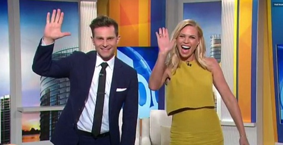 David Campbell and Sonia Kruger waved goodbye to ratings this week   PHOTO: Nine