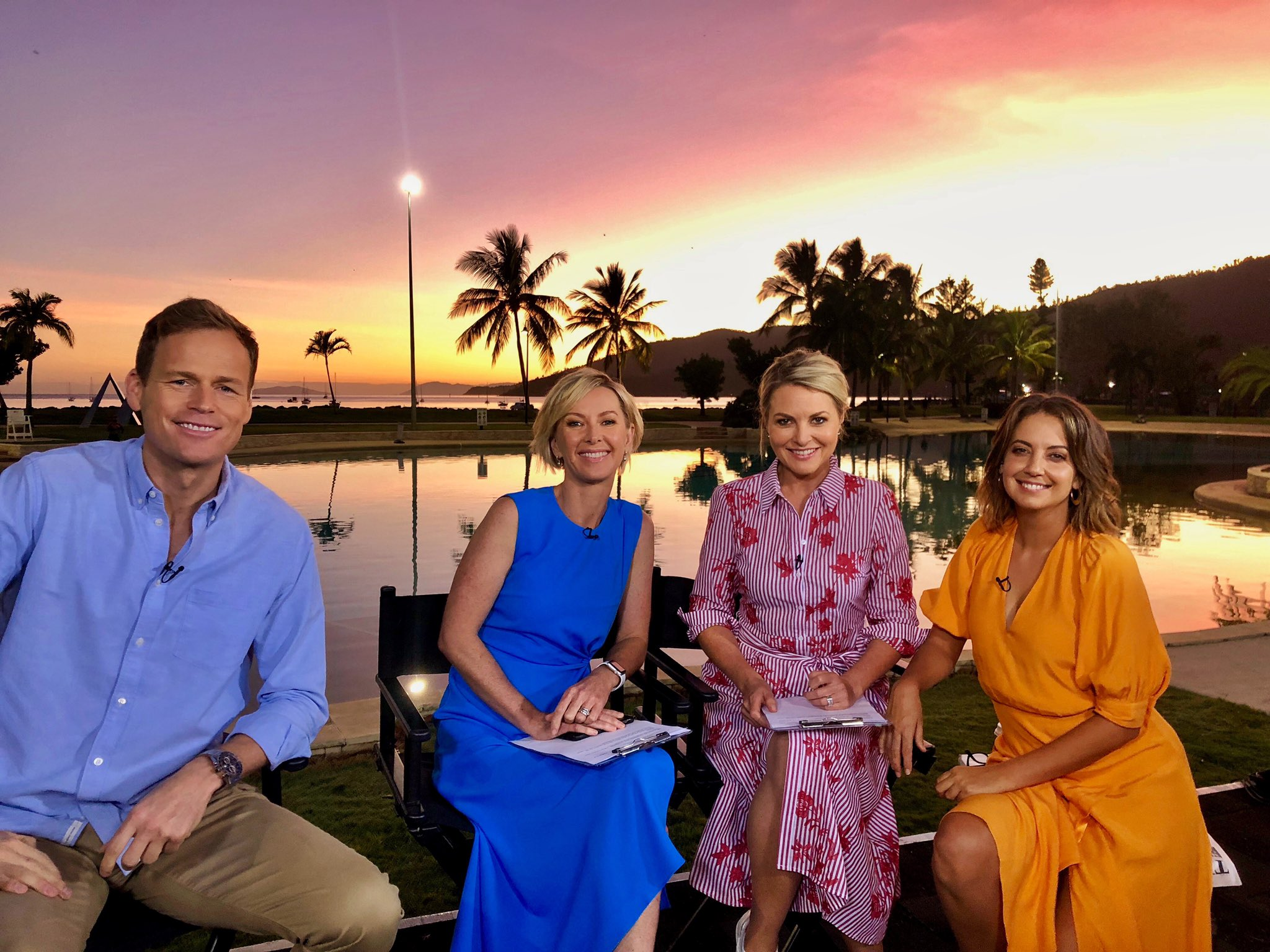 The TODAY show was broadcasting in 'paradise' this week but their ratings were from hell