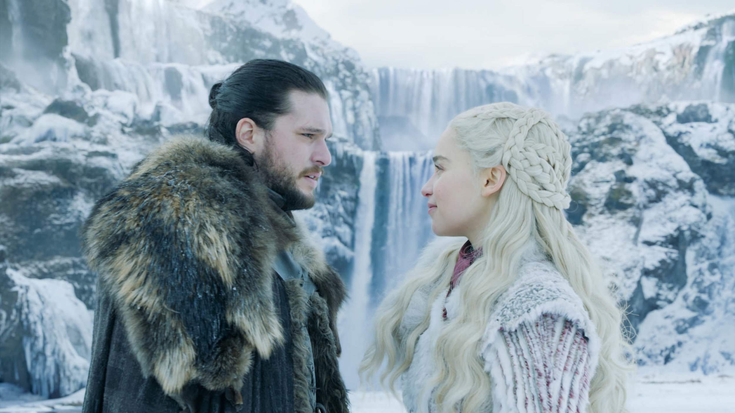 Jon & Daenerys share a moment  Image - HBO