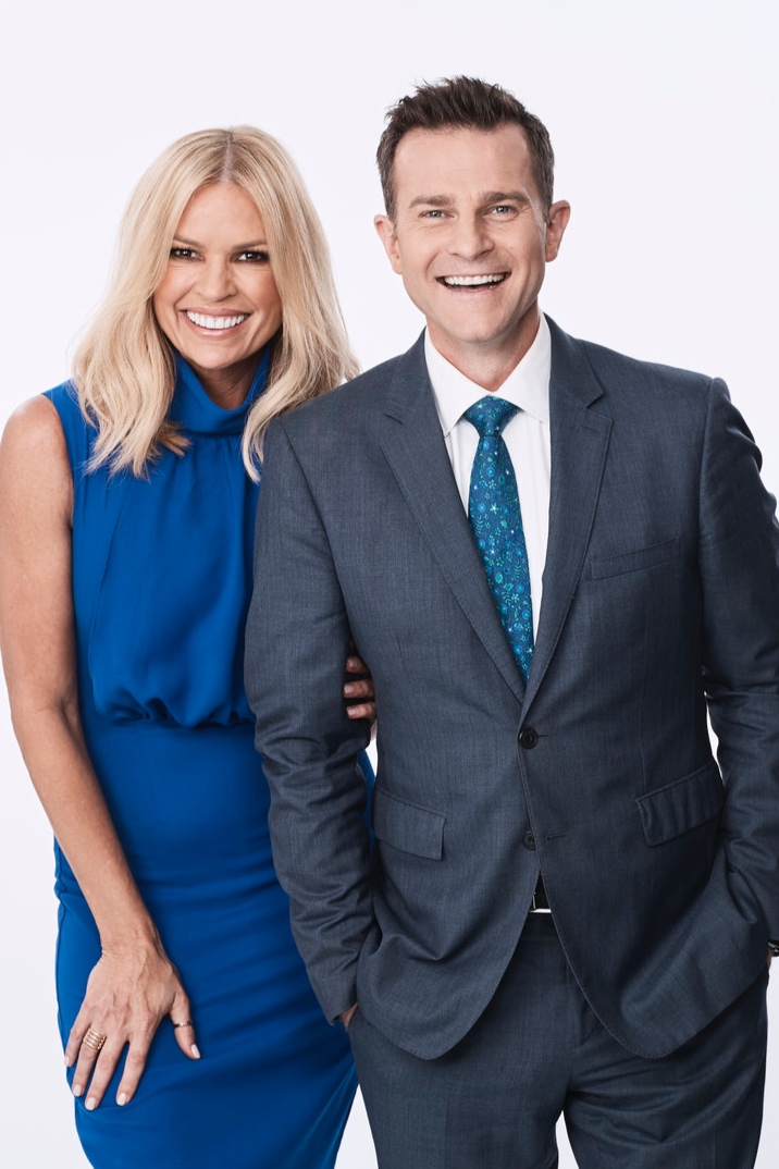 Sonia Kruger and David Campbell have reason to smile this week   PHOTO: Nine