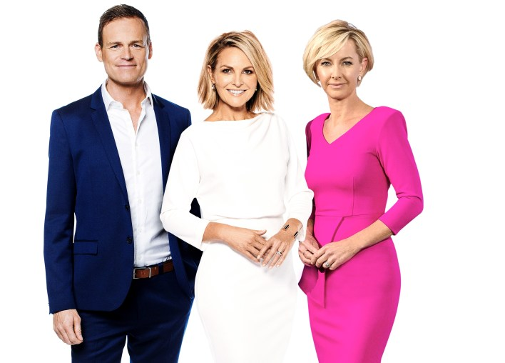 There was some good news for Nine's TODAY show this week   PHOTO: Nine