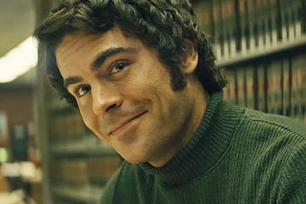 ZAC EFRON as TED BUNDY in the new NETFLIX film EXTREMELY WICKED, SHOCKINGLY EVIL AND VILE   PHOTO: Netflix