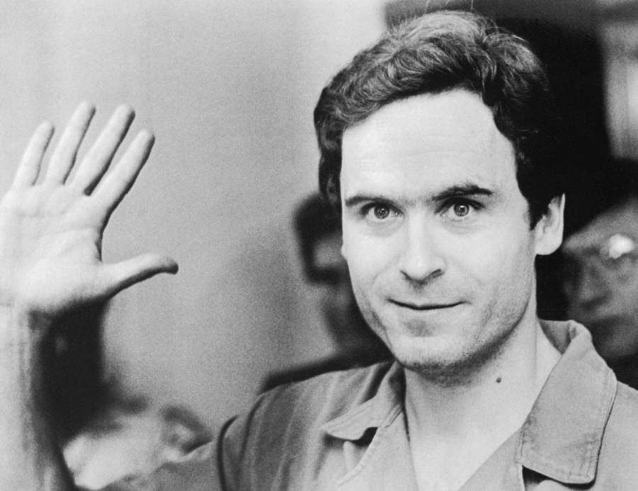 The real Ted Bundy in court