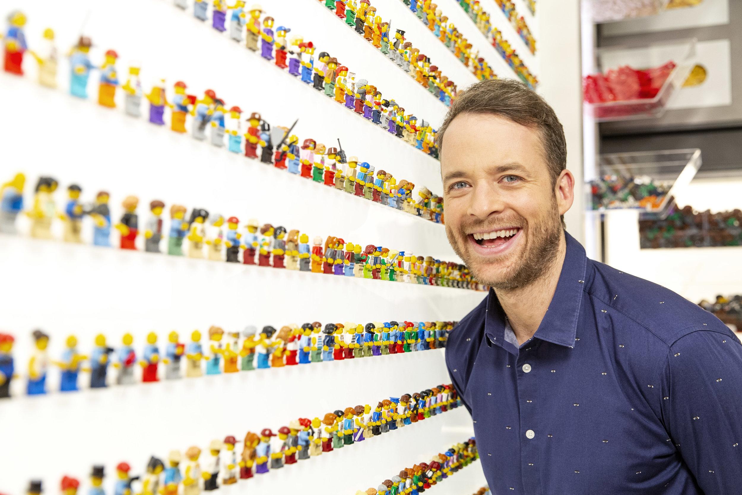 Hamish Blake hosts TV's #1 show LEGO MASTERS   PHOTO: Nine