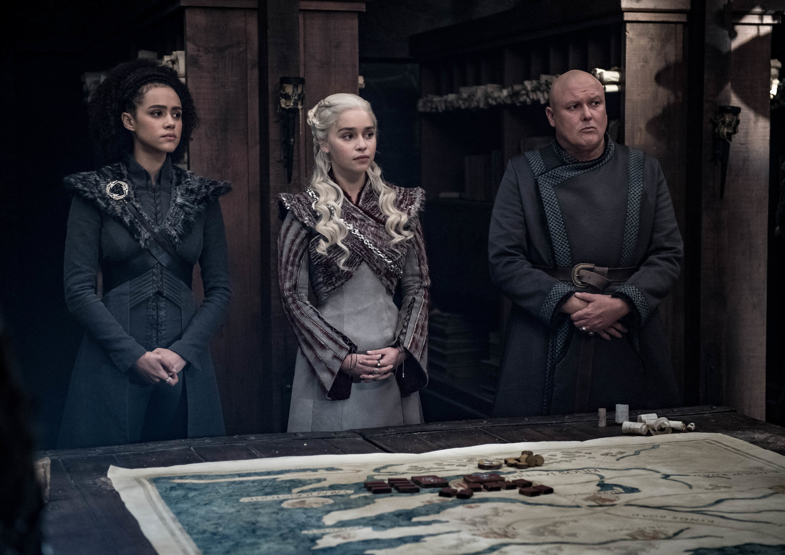 """""""…then YOU come up with a better plan, smart arse!""""  Image - HBO"""