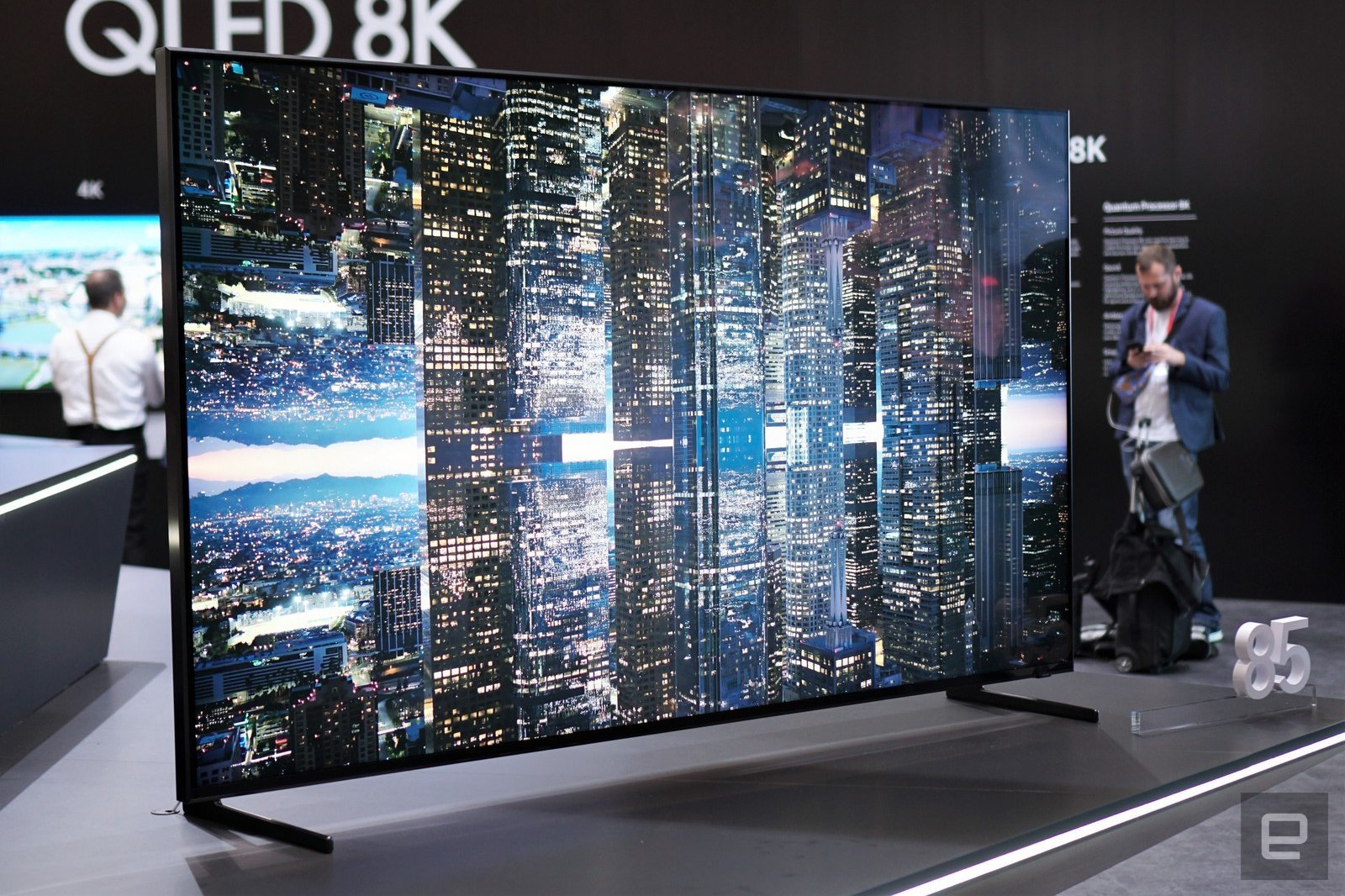 An 8K TV from Samsung  image - Engadget