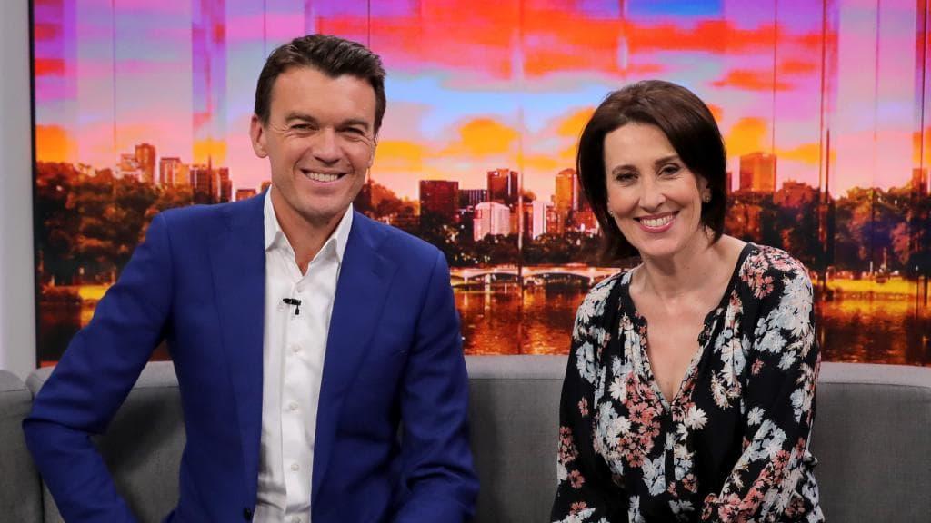 Michael Rowland & Virginia Trioli currently host ABC NEWS BREAKFAST   PHOTO: Herald Sun