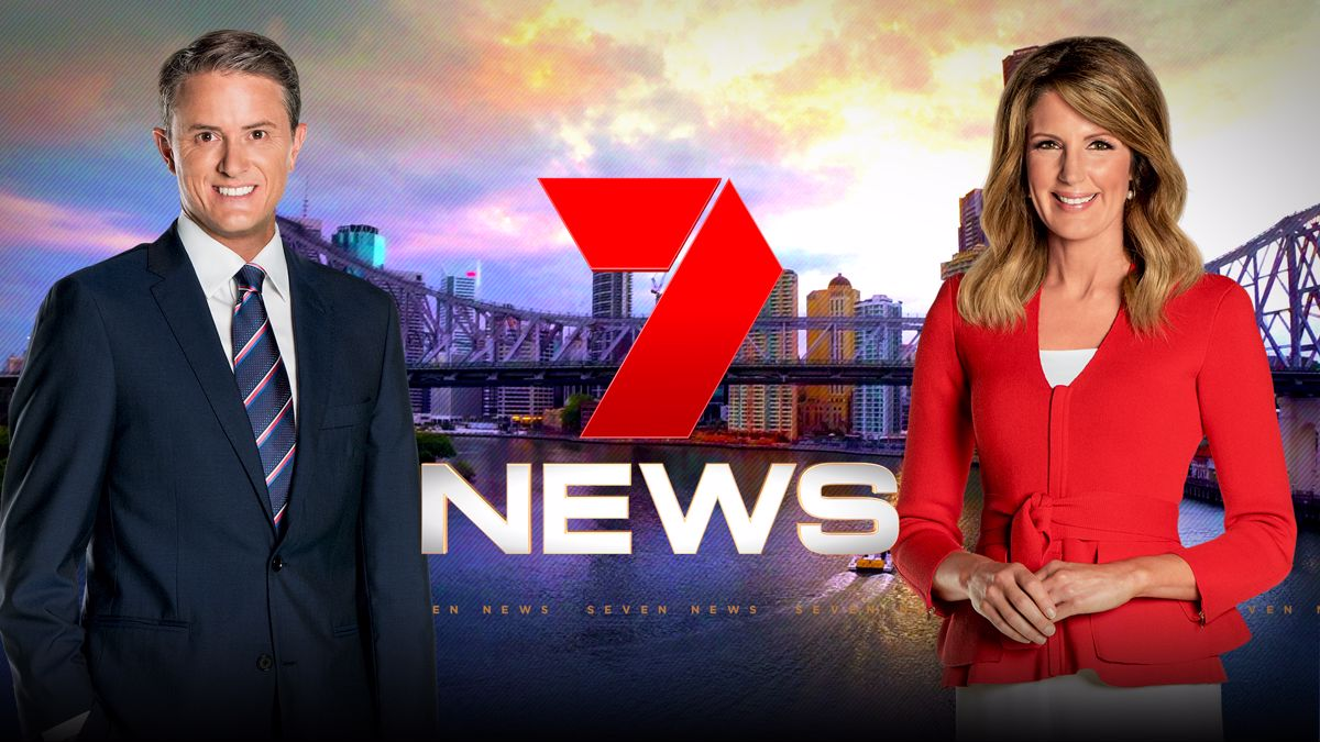 SEVEN NEWS started the year strong in Brisbane but is now under pressure from Nine   PHOTO: Seven