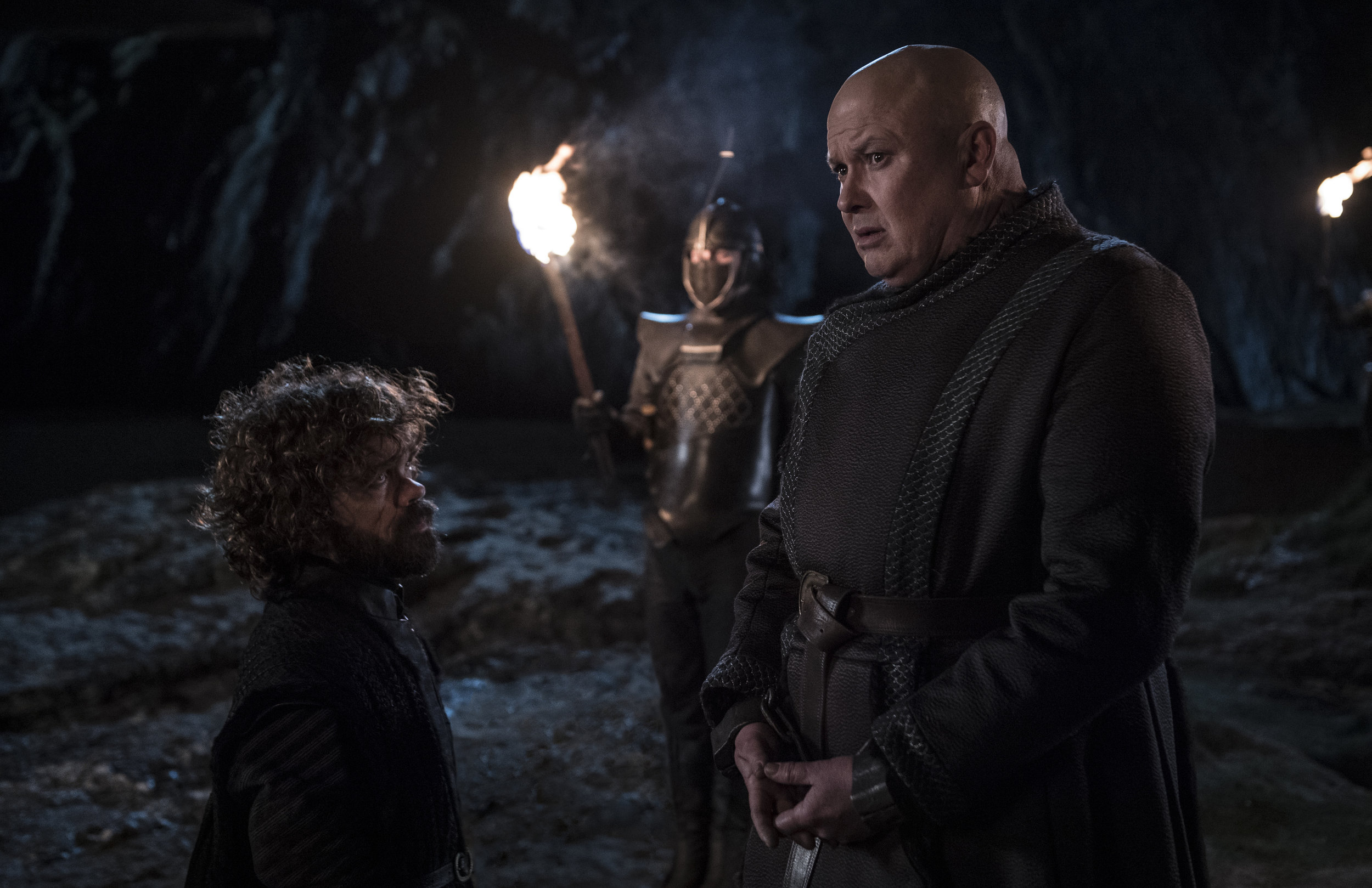 """""""I didn't think she'd take it so personally!"""" """"You mean the lady and the dragon with the bad temper?""""  Image - HBO"""