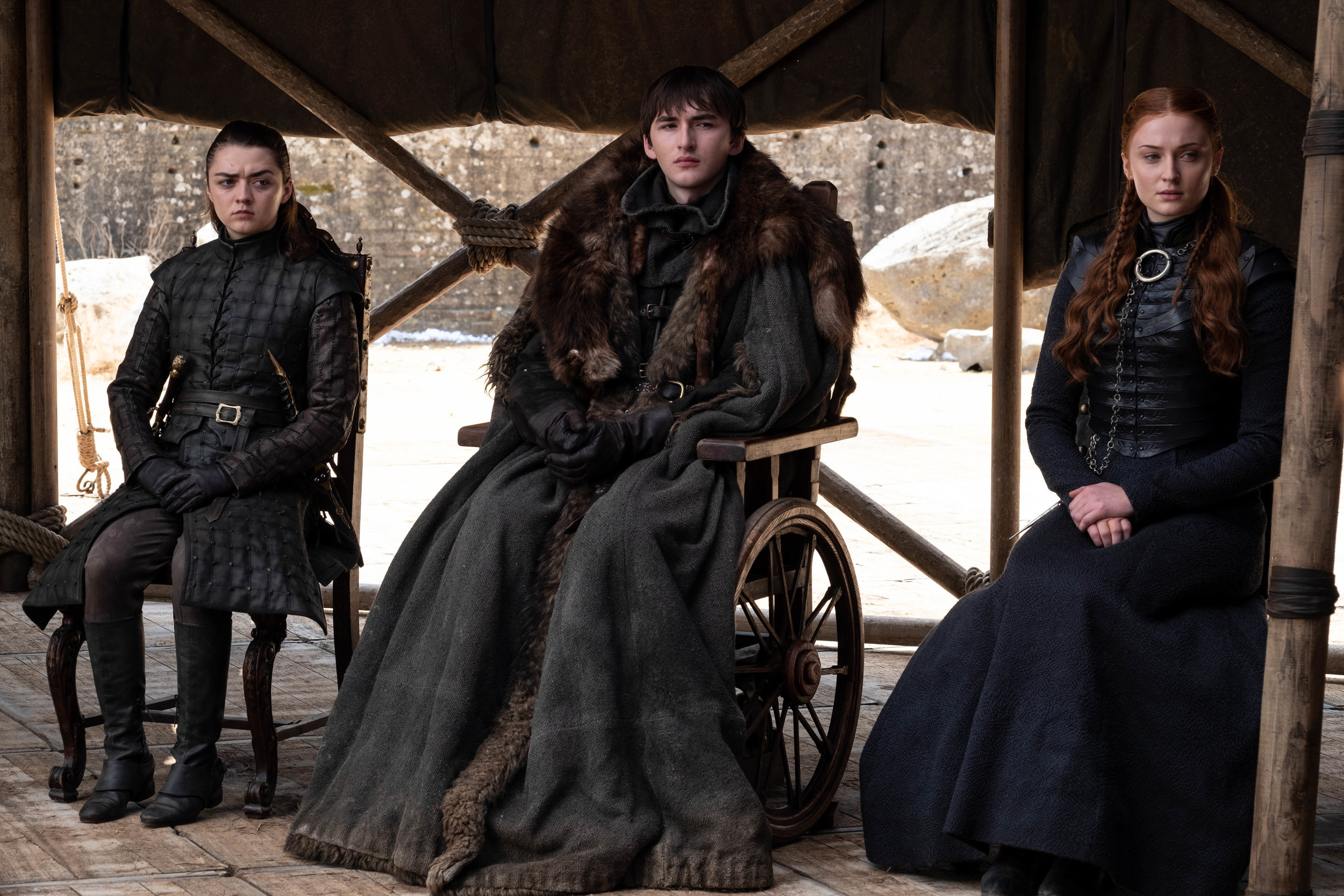 One does not fuck with the surviving Starks  Image - HBO
