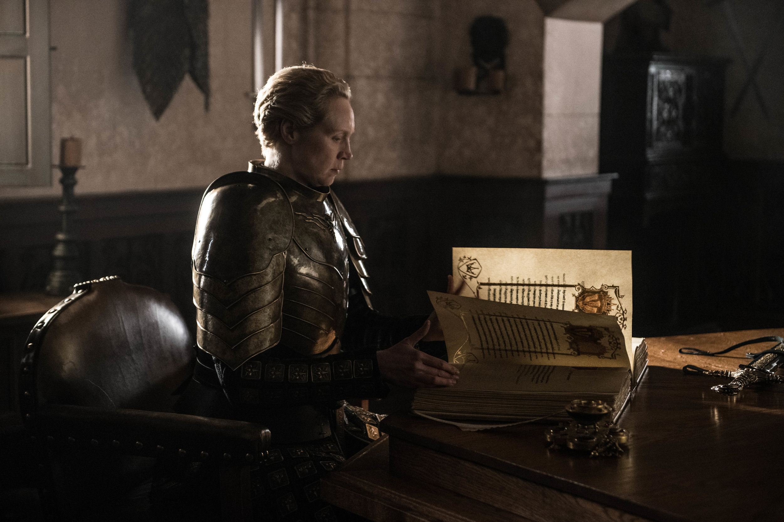 Only one with the heart of a knight can complete the story of a knight  Image - HBO