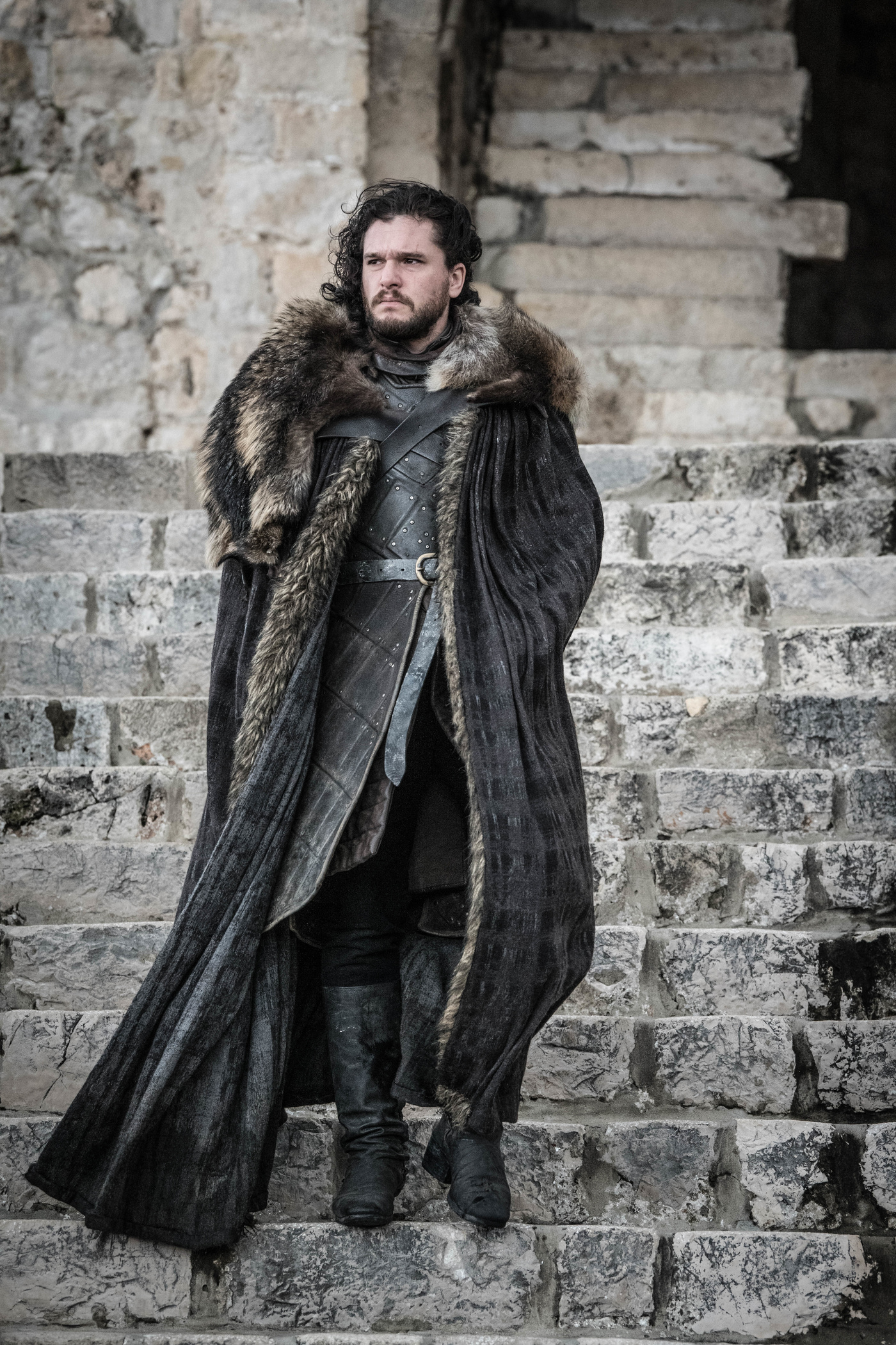 Farewell Jon Snow - the man who would not be king  Image - HBO