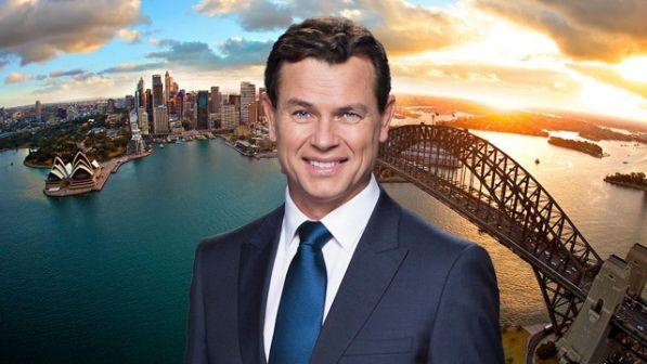 MARK FERGUSON hosts 7 NEWS in Sydney