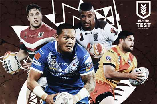International Pacific Test  Source: Rugby League Planet