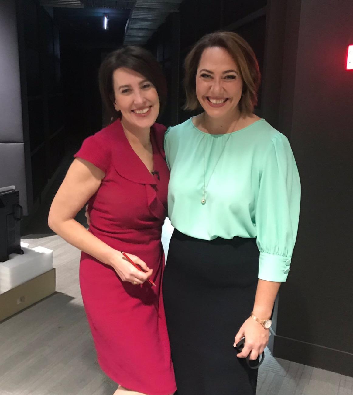 Virginia Trioli and Lisa Millar  image - Twitter