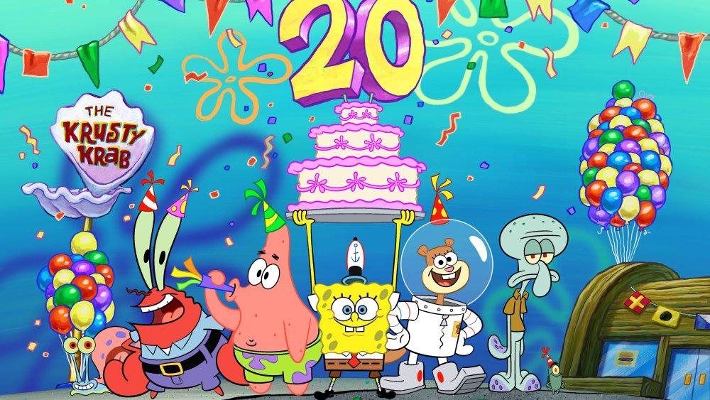 SpongeBob's Big Birthday Blowout  Source: Variety