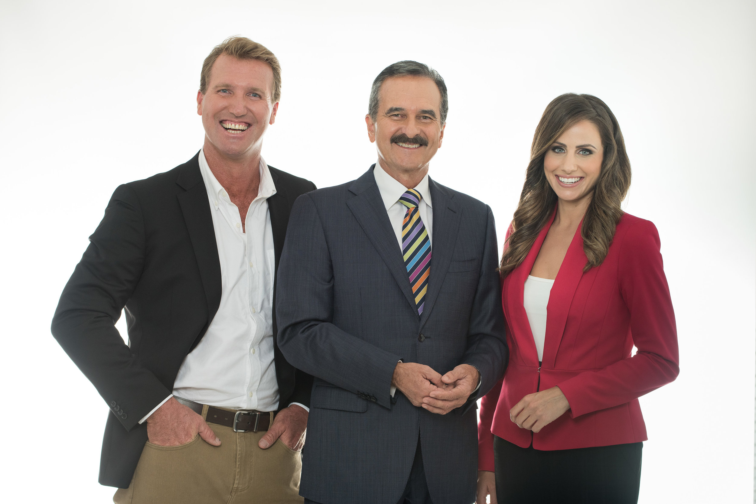 The 7 Gold Coast News team  PHOTO: Seven