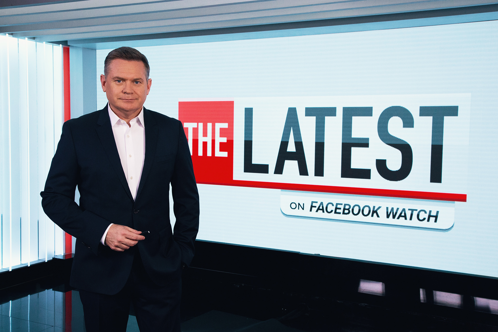 Michael Usher will present The Latest on Facebook Watch  image - SEVEN