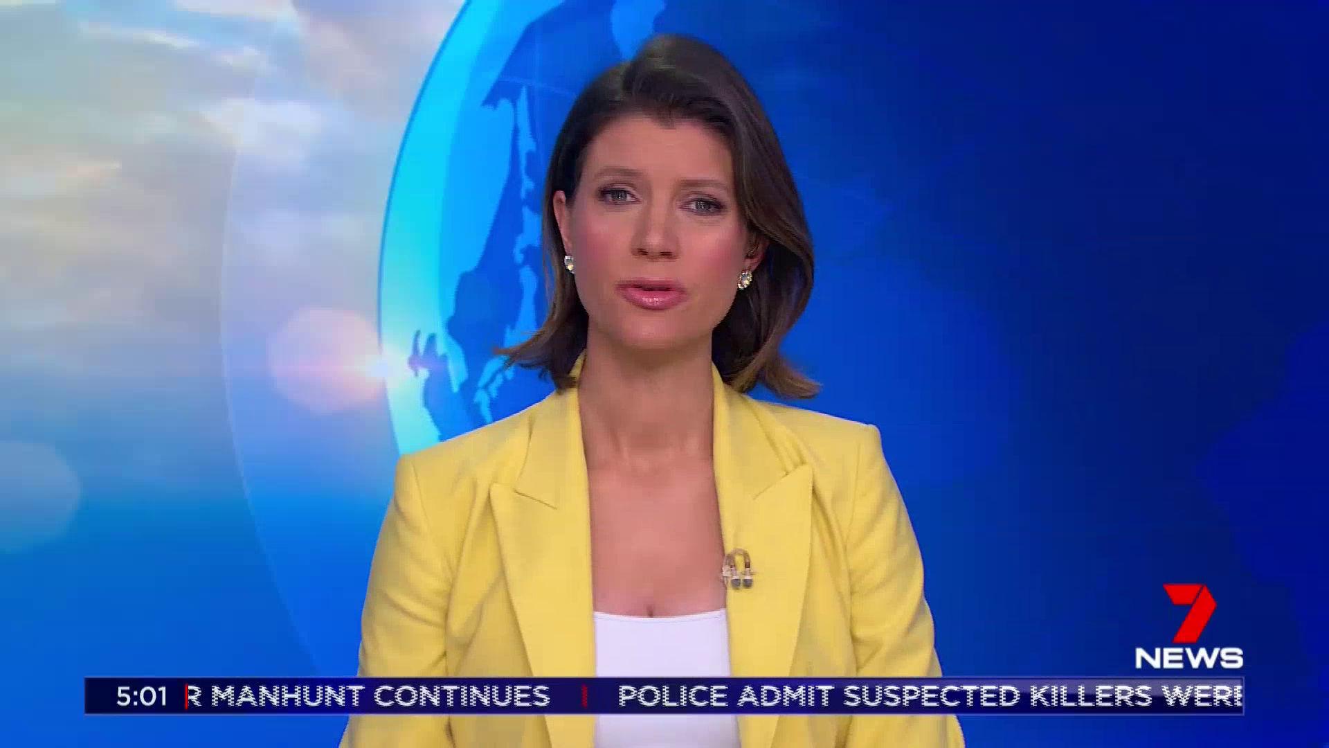 """Jodie Speers  reading the same """"dole bludgers"""" intro as prepped by a 7 news Producer"""