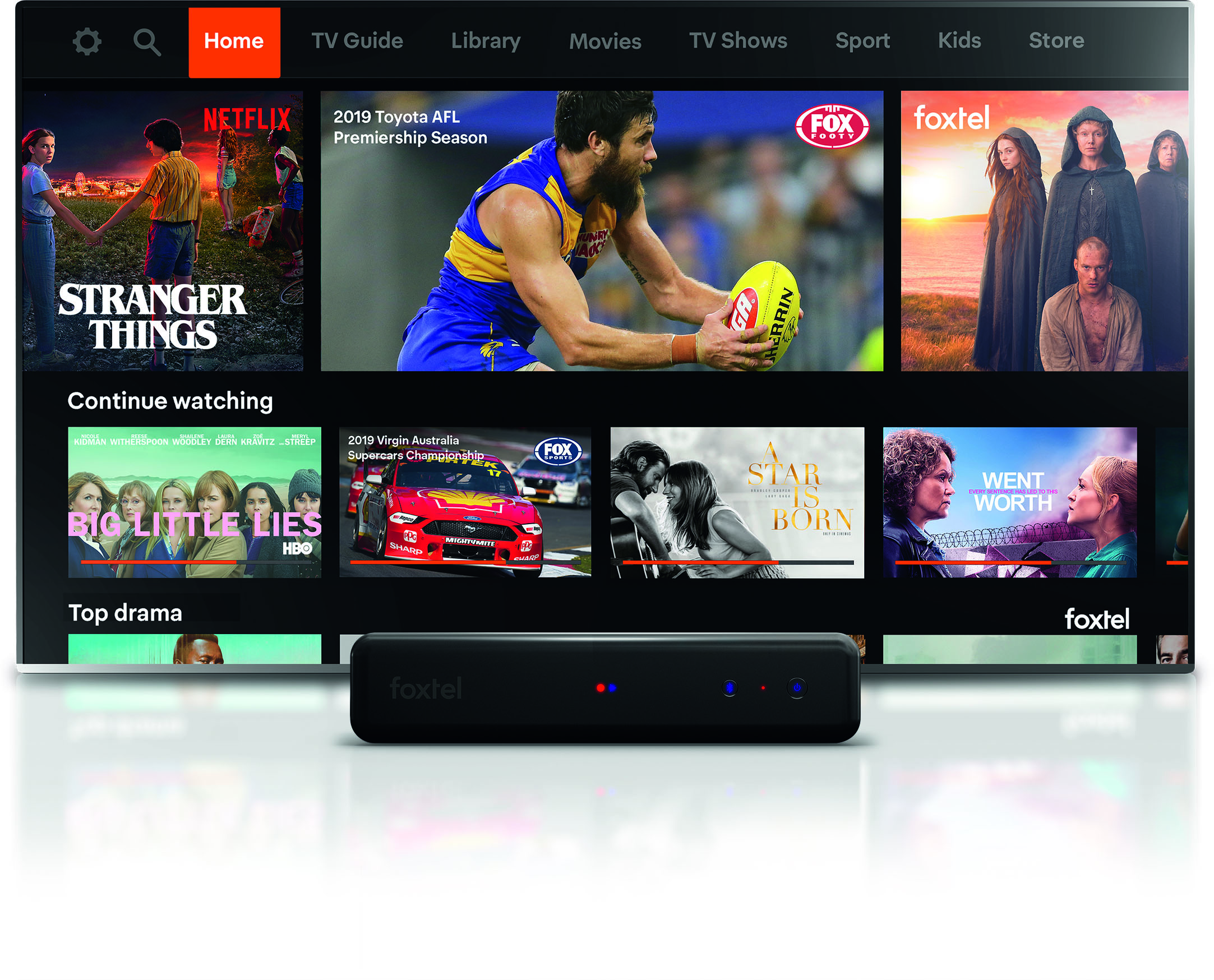 FOXTEL 'Next Gen' Interface with NETFLIX rolls out to customers as