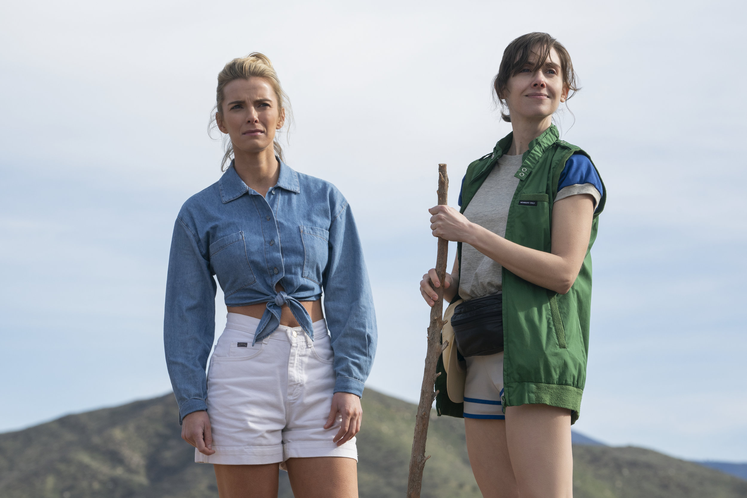 Betty Gilpin and Alison Brie star in GLOW  image - Netflix