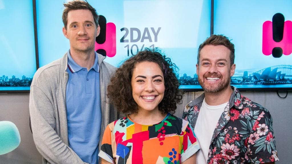 One of the few times  Ed Kavalee ,  Ash London  and  Grant Denyer  were in the studio together before their radio show was axed