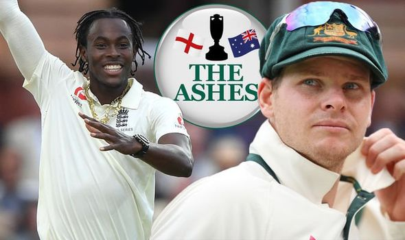 The Ashes  Source: Daily Express
