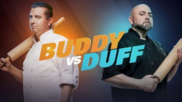 Buddy vs Duff  Source: Food Network
