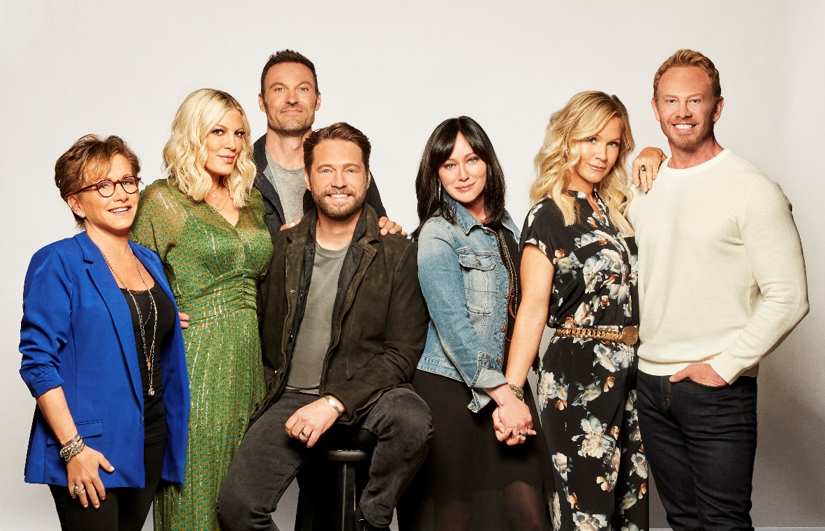 BH90210  Source: 10 Network