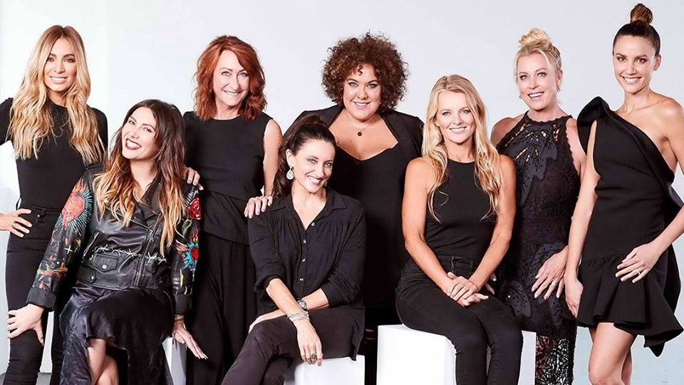 The cast of Seven's  The Real Full Monty: Ladies' Night
