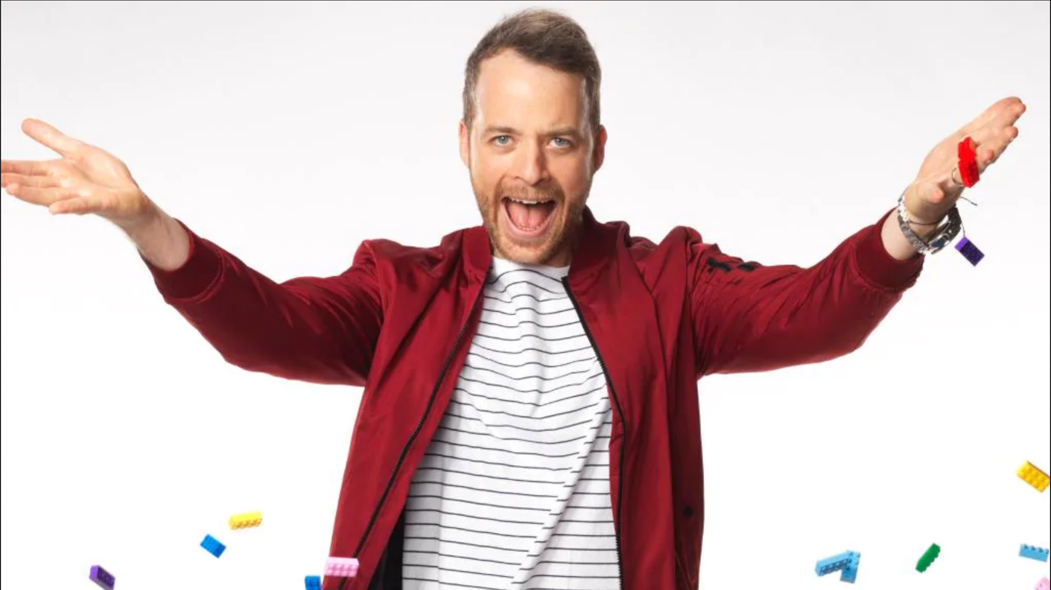 Hamish Blake  will appear on the celebrity edition of  Hard Quiz   PHOTO: 9