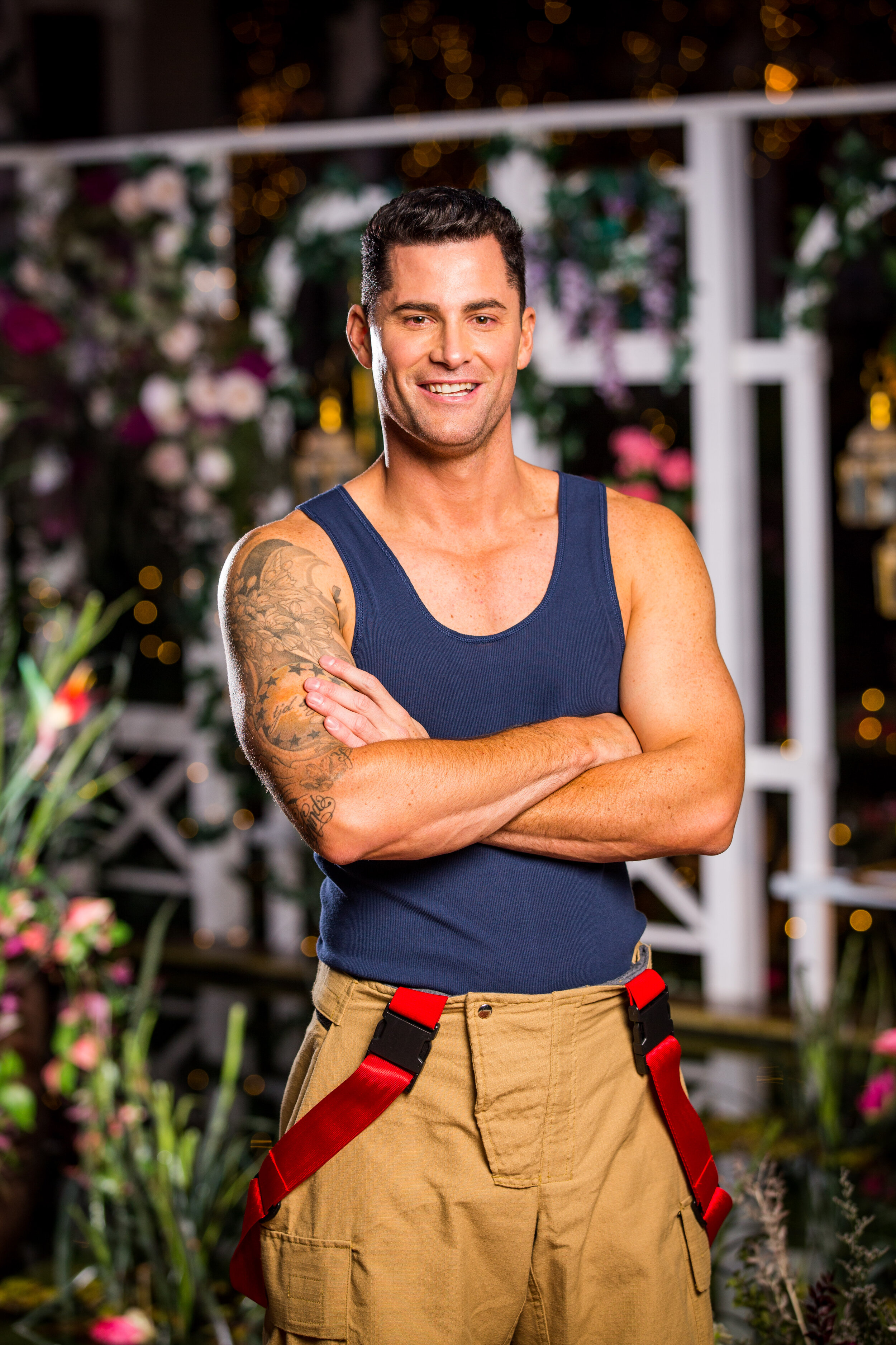 Angie Survivor trailer | firefighter jamie is introduced to angie on the