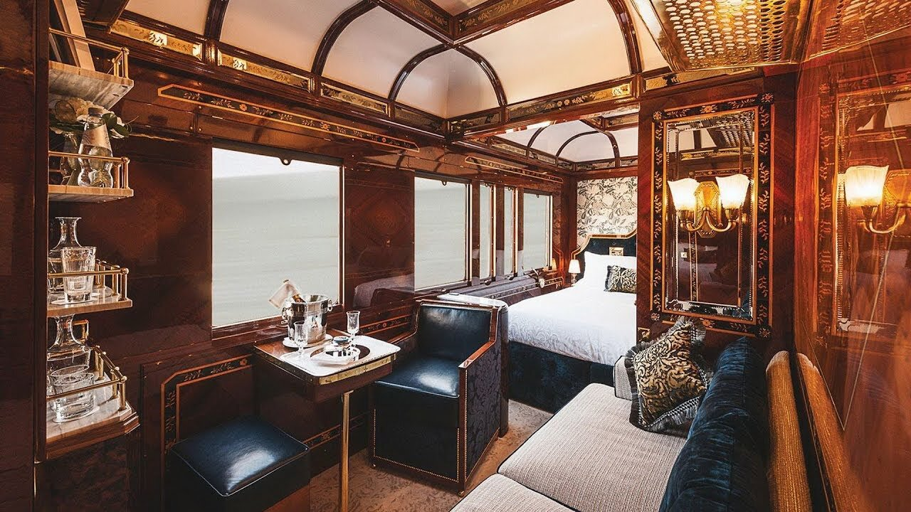 Inside the Orient Express  Source: YouTube