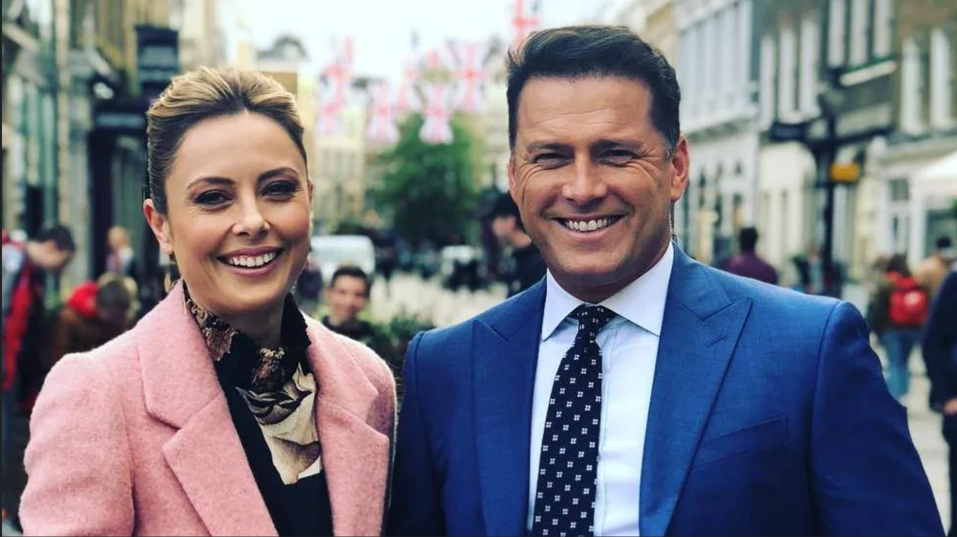 Allison Langdon  and  Karl Stefanovic  are set to host the TODAY show in 2020  PHOTO: Instagram