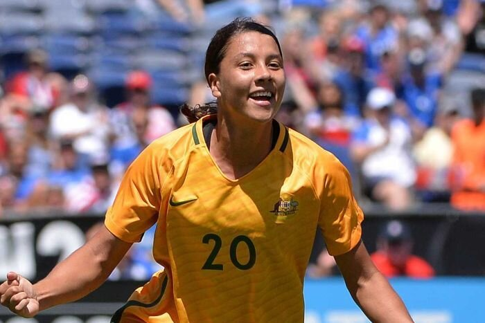 Sam Kerr  image - ABC