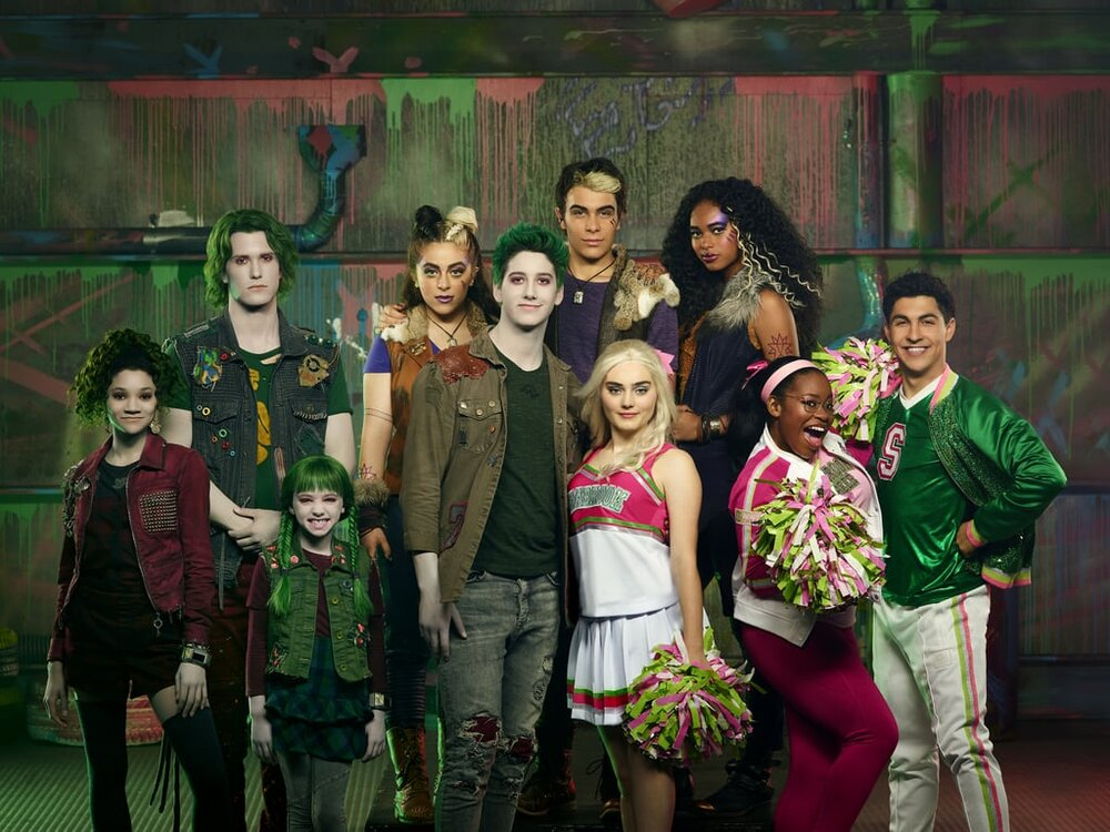 The cast of Zombies 2 PHOTO: Disney