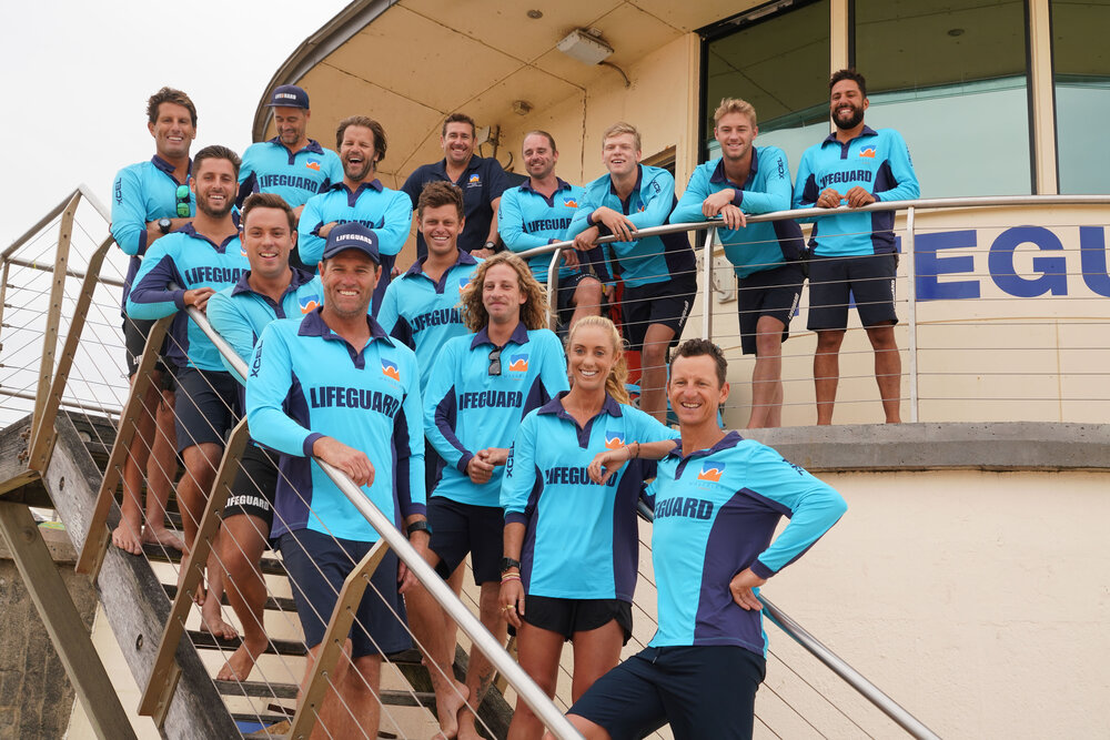 The cast of BONDI RESCUE Image - Ten