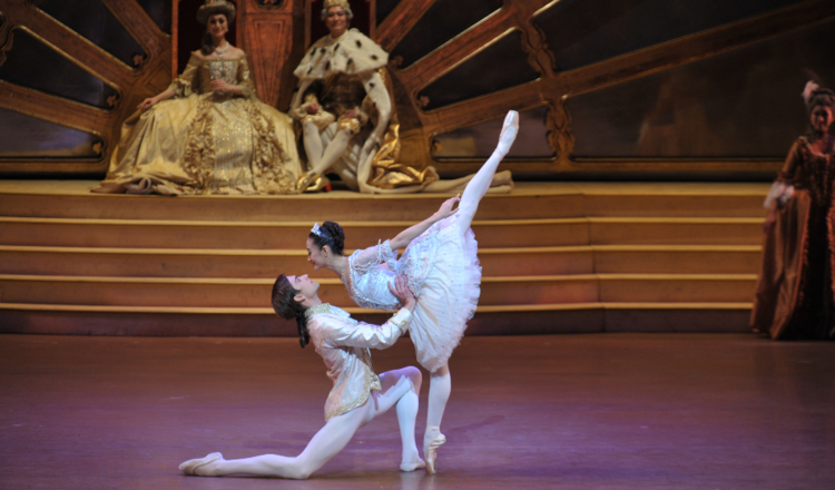 Jin Yao and Friedemann Vogel in the Sleeping Beauty  Photography: Cheung Chi Wai