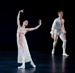 Alicia Amatrian and Friedemann Vogel in Romeo and Juliet ©Liza Voll