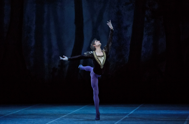 Friedemann Vogel in Giselle  ©Photo Martin Divisek