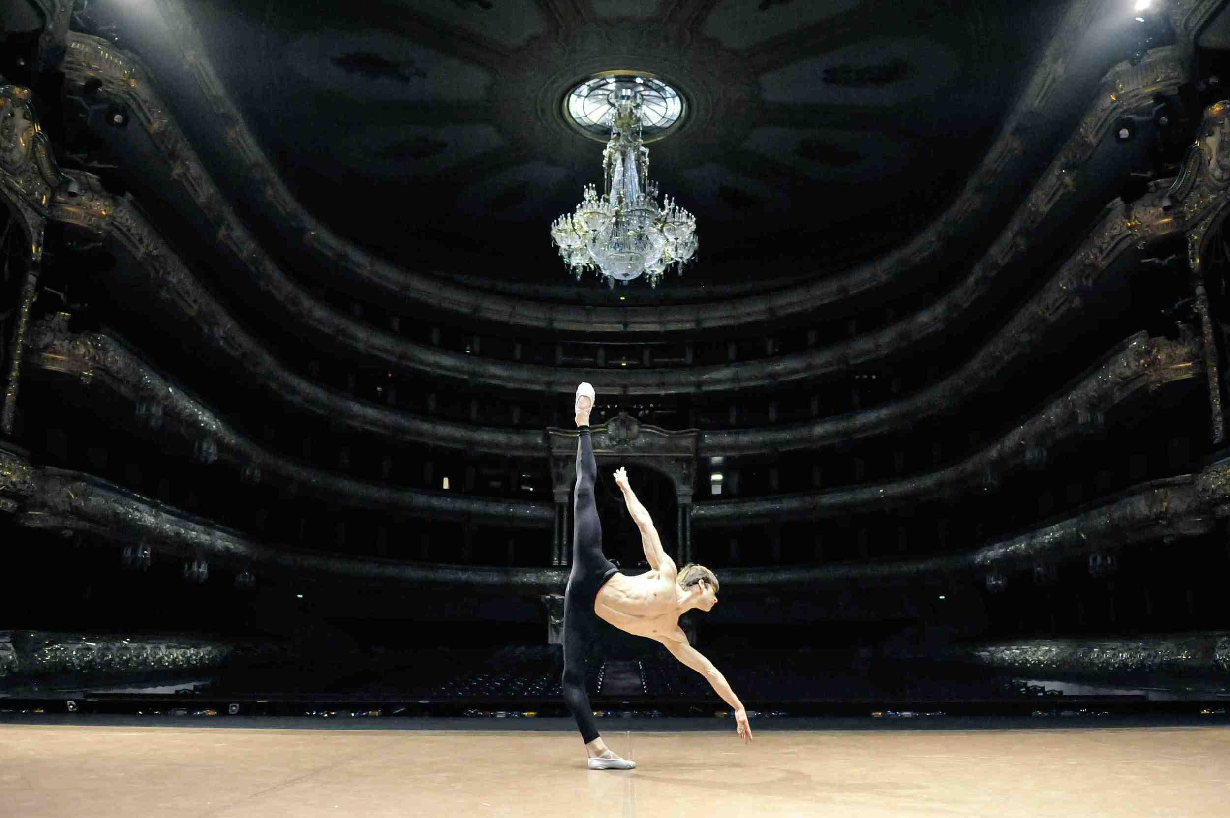 Friedemann Vogel at the Bolshoi Theatre Photo ©Roman Novitzky
