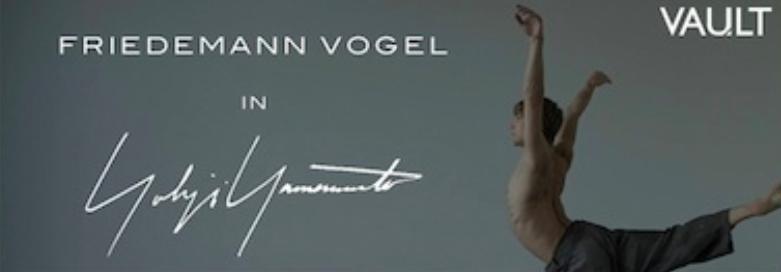 Friedemann Vogel in Yohji Yamamoto