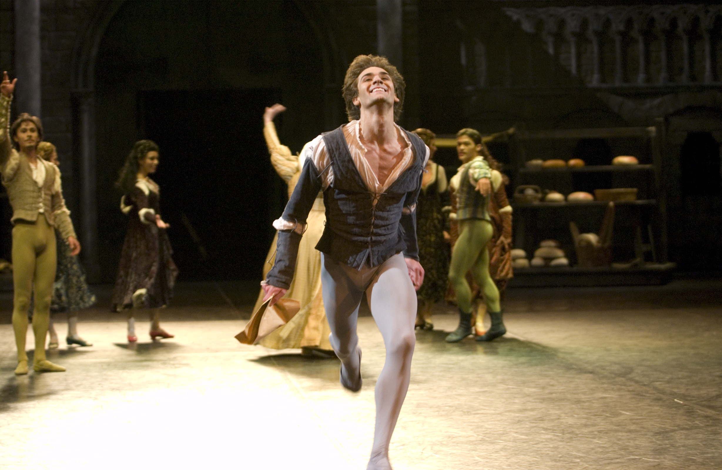 Friedemann Vogel as Romeo (c) Daria Klimentova