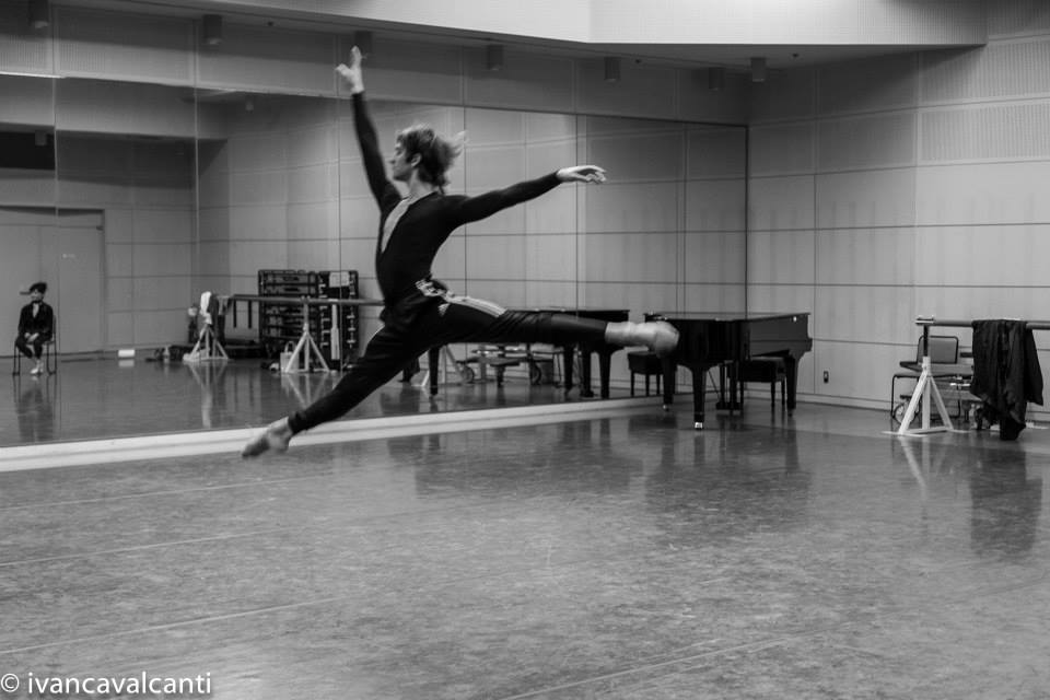 Friedemann Vogel during Manon rehearsal (c) Ivan Cavalcanti