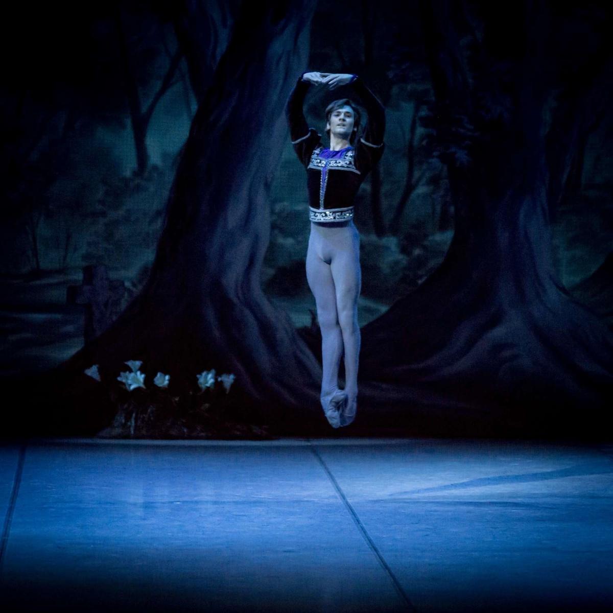 Friedemann Vogel in Giselle (c) Jack Devant