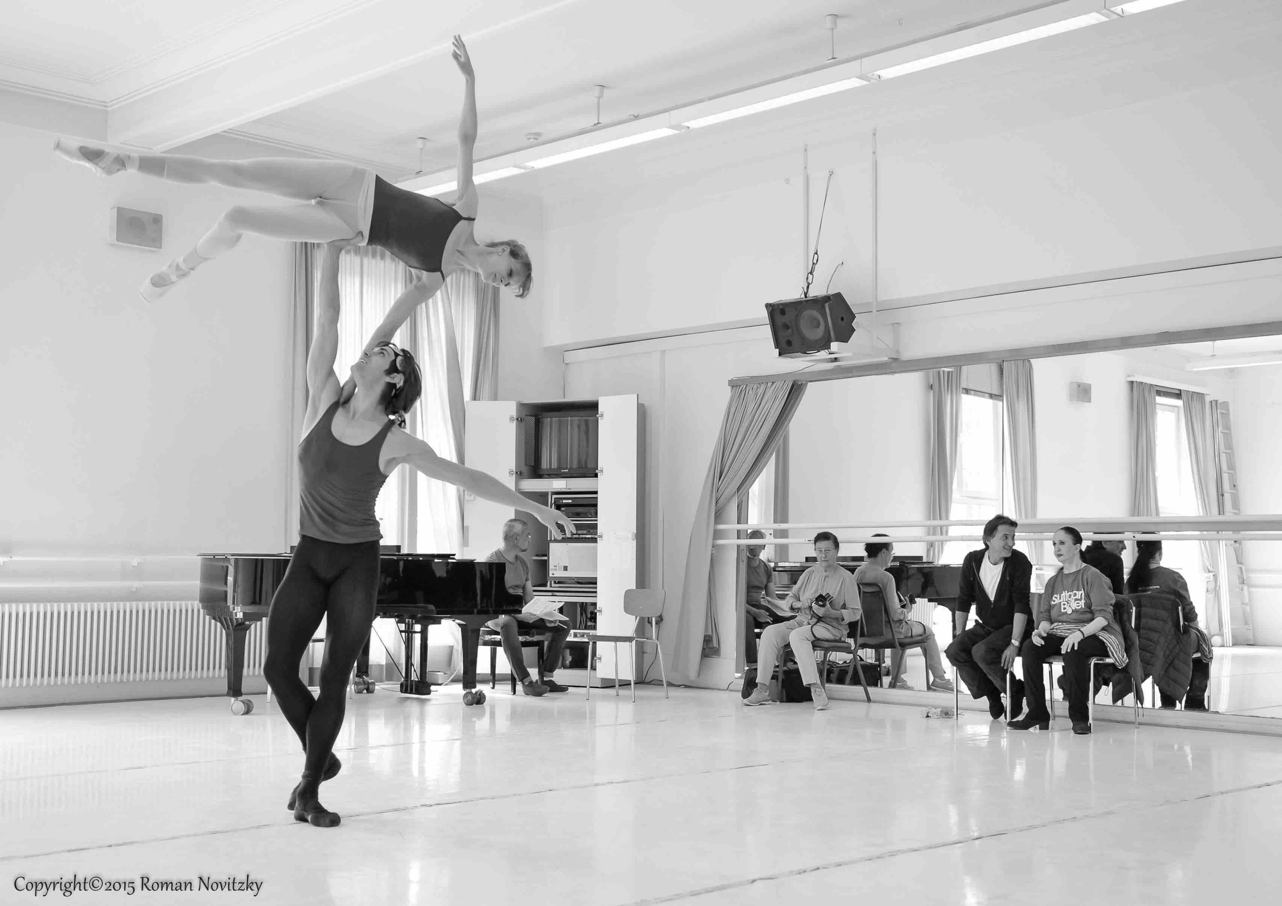 Legende rehearsal  with Marcia Haydée, Tamas Detrich, Alicia Amatriain, Friedemann Vogel Photo (c) Roman Novitzky