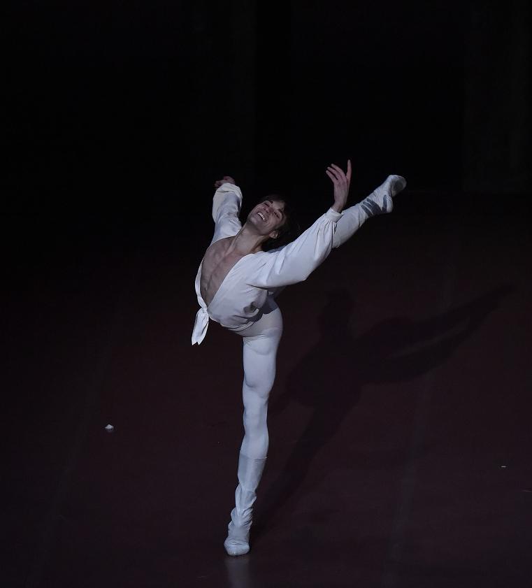 Friedemann Vogel as Romeo Photo  © Hidemi Seto