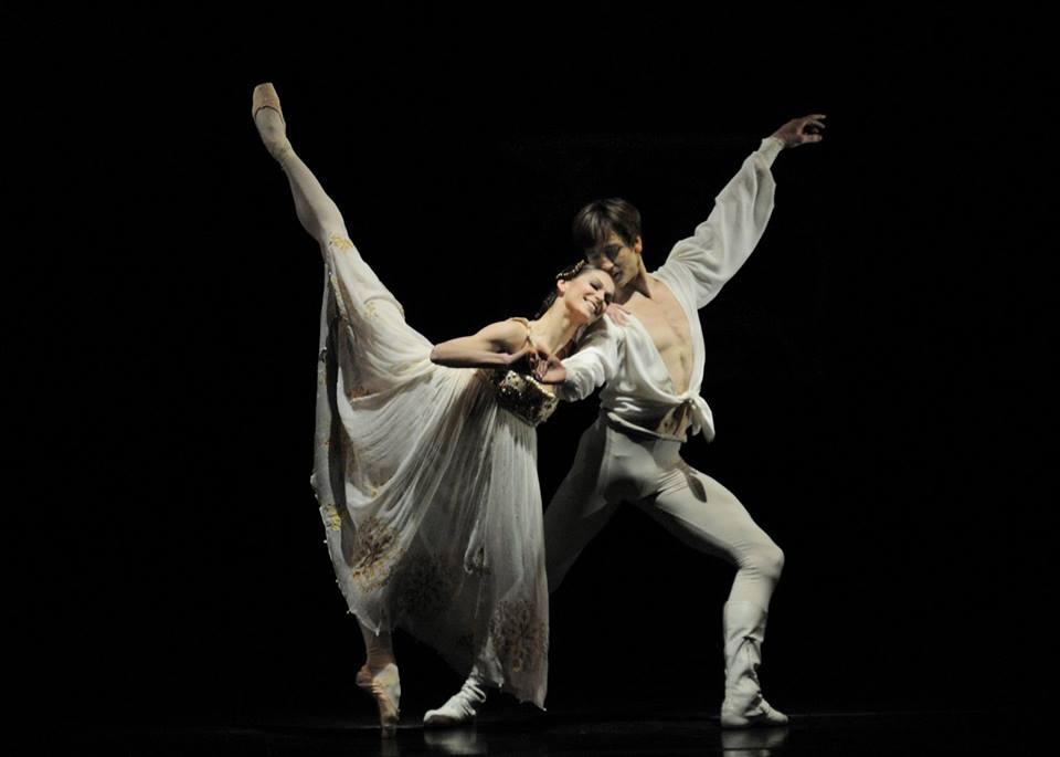 Polina Semionova and Friedemann Vogel (c) Charles Tandy