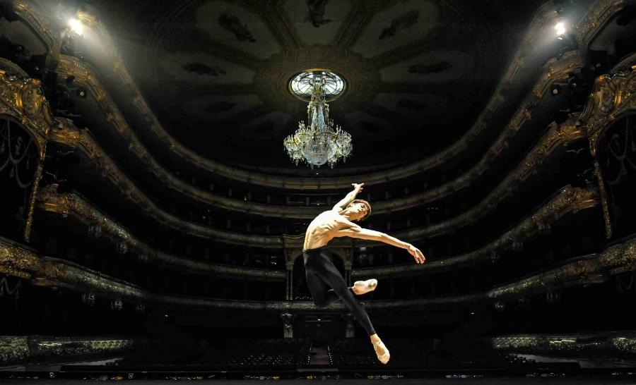 Friedemann Vogel at Bolshoi Theatre (c) Roman Novitzky