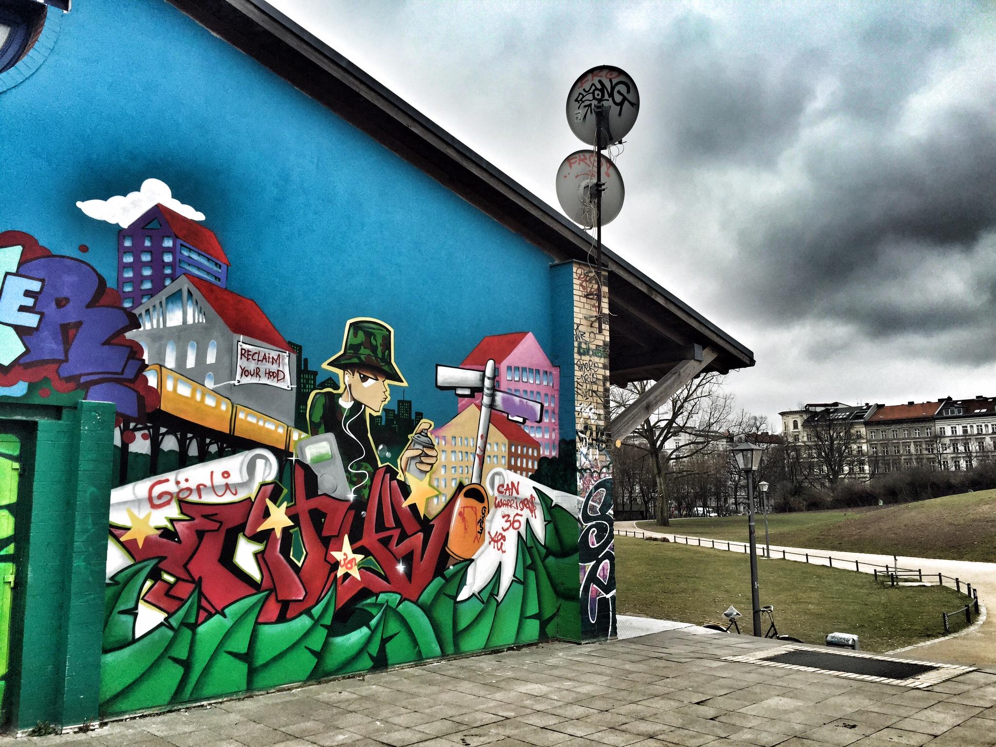 Berlin does graffiti really well